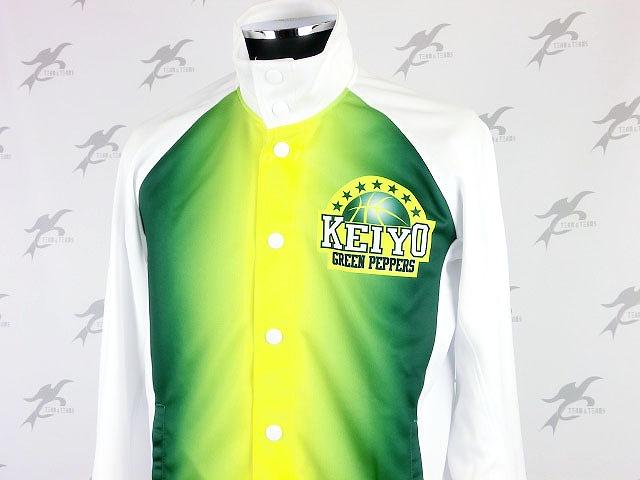 Keiyo Green Peppers様(昇華バスケジャージ)