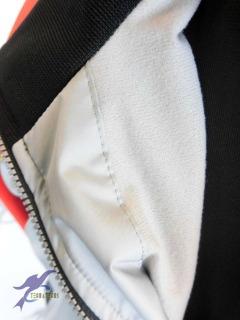 オーダー オリジナル 昇華ウィンドブレーカー ウォームアップシャツパンツ 富川ミニバスクラブ様12