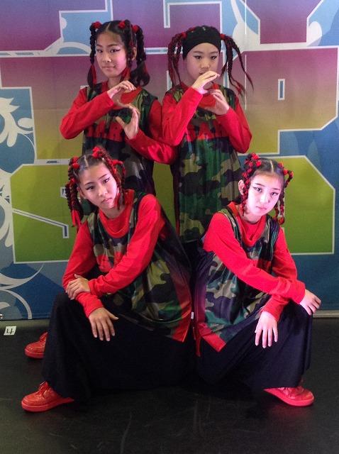 EVOLUTION SARU様(ダンス)